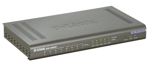 VoIP-Шлюз D-Link DVG-5008SG (8-port * FXS, 1-port * WAN, 4-port * LAN) - купить в интернет-магазине Анклав