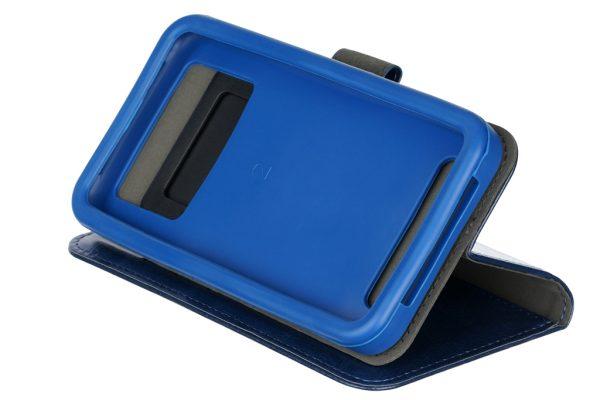"""Чехол-книжка 2E Basic Eco Leather для смартфонов 6-6.5"""" Navy (2E-UNI-6-6.5-HDEL-NV) - купить в интернет-магазине Анклав"""