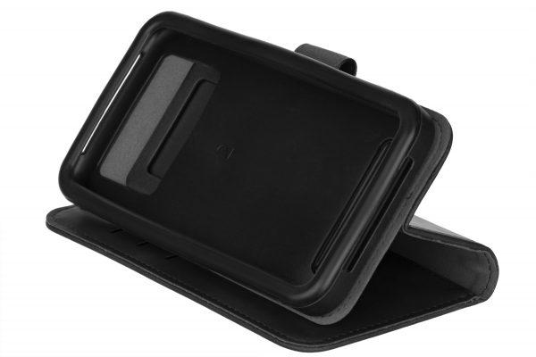 """Чехол-книжка 2E Silk Touch для смартфонов 4.5-5"""" Smoky Black (2E-UNI-4.5-5-HDST-SBK) - купить в интернет-магазине Анклав"""