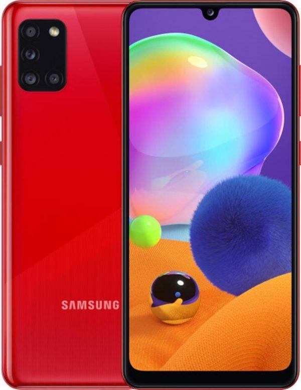 Samsung Galaxy A31 SM-A315 4/64GB Dual Sim Red (SM-A315FZRUSEK) - купить в интернет-магазине Анклав
