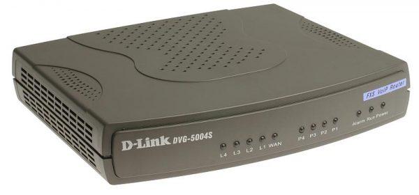 VoIP-Шлюз D-Link DVG-5004S (4-port * FXS, 1-port * WAN, 4-port * LAN) - купить в интернет-магазине Анклав