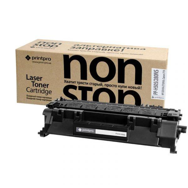 Картридж PrintPro NonStop (PP-H505/280NS) HP LJ M425DN/425DW (аналог CE505A/CF280A) - купить в интернет-магазине Анклав