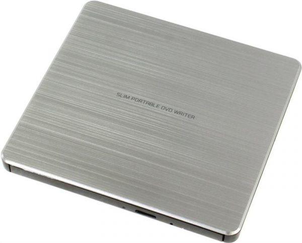 DVD+/-RW Hitachi-LG GP60NS60 USB Ext Slim Silver - купить в интернет-магазине Анклав