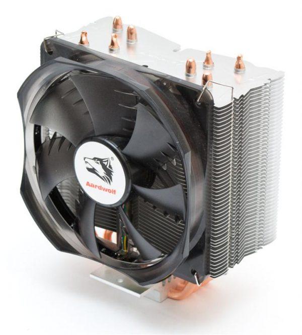 Кулер процессорный Aardwolf Optima 10X (APF-10XOPT-120LED), Intel: 2066/2011/1366/1156/1155/1551/1150/775 AMD: FM2/FM2+/FM1/AM3+/AM3/AM2+/AM2/AM4, 154х130х95 мм, 4-pin - купить в интернет-магазине Анклав