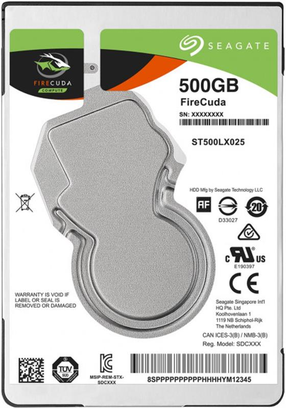 "HDD 2.5"" SATA  500GB Seagate FireCuda 5400rpm 128MB (ST500LX025) - купить в интернет-магазине Анклав"