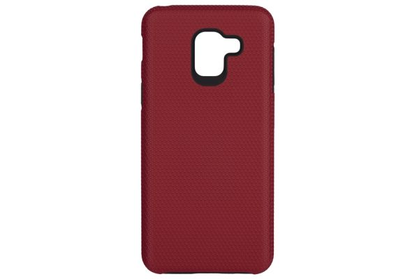 Чехол-накладка 2E Triangle для Samsung Galaxy J6 SM-J600 Red (2E-G-J6-18-TKTLRD) - купить в интернет-магазине Анклав