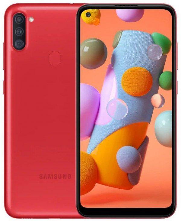 Смартфон Samsung Galaxy A11 SM-A115 2/32GB Dual Sim Red (SM-A115FZRNSEK) - купить в интернет-магазине Анклав