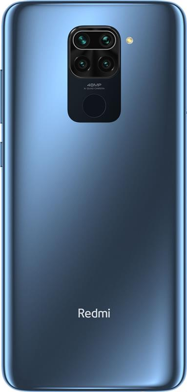 Xiaomi Redmi Note 9 4/128GB Dual Sim Midnight Grey - купить в интернет-магазине Анклав
