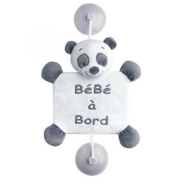 Мягкая игрушка Nattou Панда Лулу Baby on Board (963459) - купить в интернет-магазине Анклав