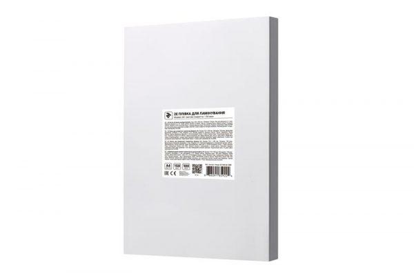 Пленка для ламинирования 2E (2E-FILM-A3-150M), A3, матовая, 150мк, 100 шт - купить в интернет-магазине Анклав