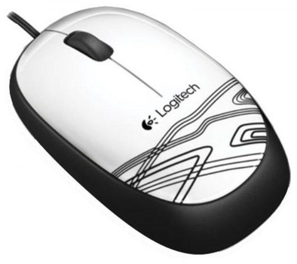 Мышь Logitech M105 (910-002944) White USB - купить в интернет-магазине Анклав