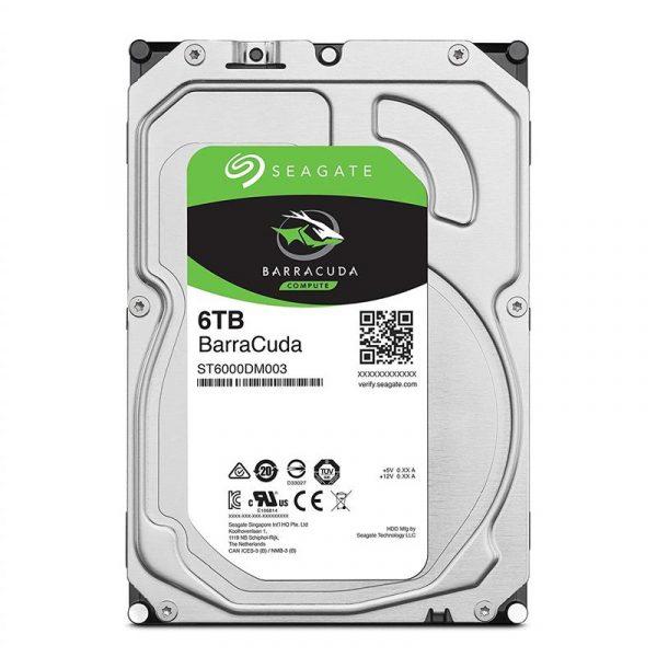 Накопичувач HDD SATA 6.0TB Seagate BarraCuda 256MB (ST6000DM003) - купить в интернет-магазине Анклав