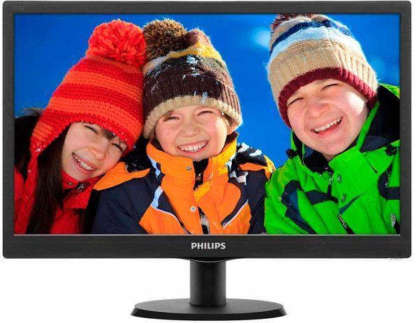 """Philips 18.5"""" 193V5LSB2/62 Black - купить в интернет-магазине Анклав"""