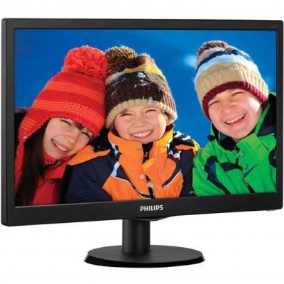 """Philips 19.5"""" 203V5LSB26/62 Black - купить в интернет-магазине Анклав"""