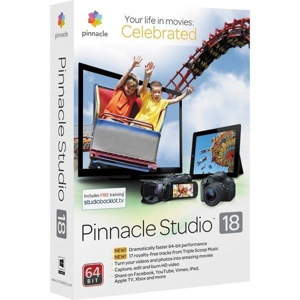 (ESDPINS18MLOEM) Pinnacle Studio 18 Standard OEM Download - купить в интернет-магазине Анклав