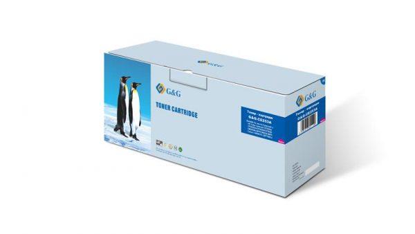 Картридж G&G (G&G-CE253A) HP Color LaserJet CP3525n/CP3520/ CM3530fs/Canon LBP7780 Magenta (аналог CE253A/Canon 732) - купить в интернет-магазине Анклав