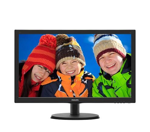 """Philips 21.5"""" 223V5LHSB2/01 Black - купить в интернет-магазине Анклав"""