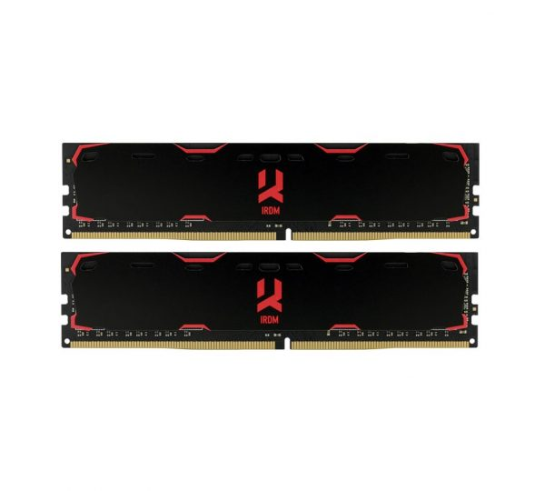 DDR4 2x8GB/2400 GOODRAM Iridium Black (IR-2400D464L15S/16GDC) - купить в интернет-магазине Анклав