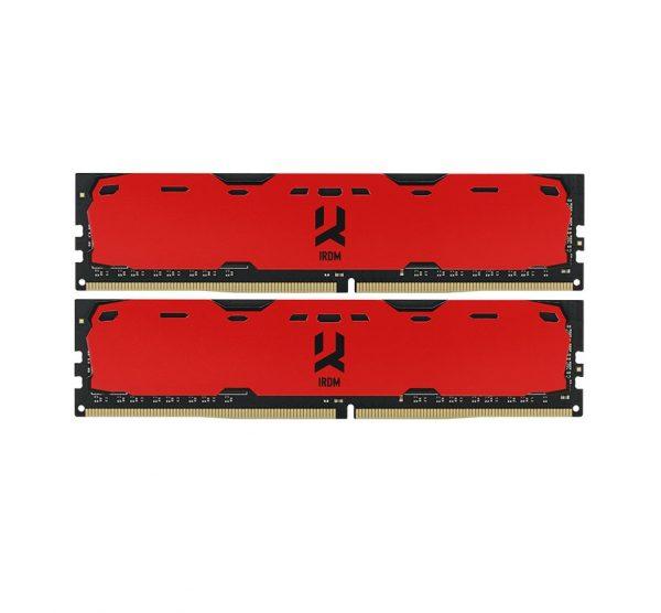 DDR4 2x8GB/2400 GOODRAM Iridium Red (IR-R2400D464L15S/16GDC) - купить в интернет-магазине Анклав