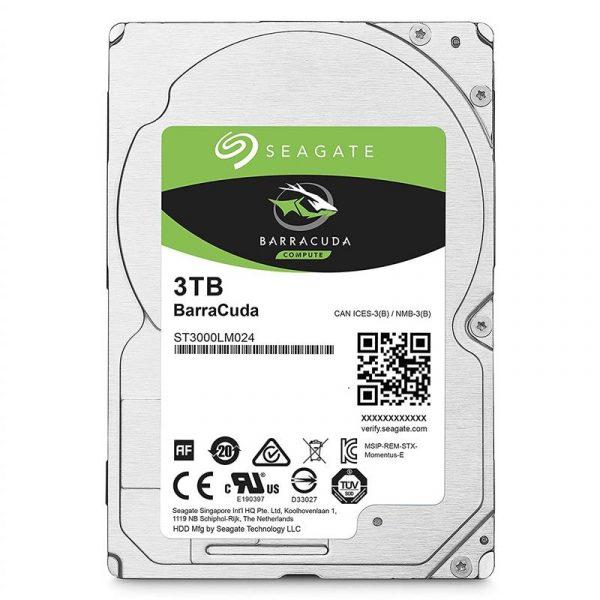 "HDD 2.5"" SATA 3.0TB Seagate BarraCuda 5400rpm 128MB (ST3000LM024) - купить в интернет-магазине Анклав"
