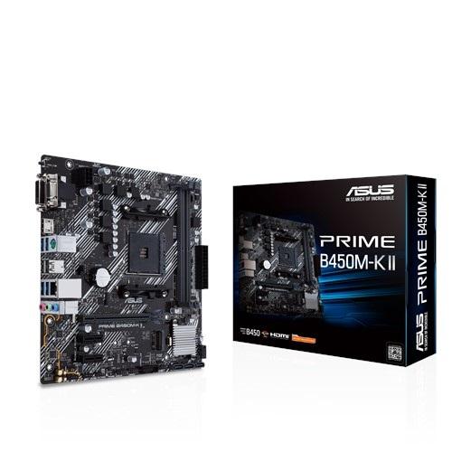 Материнська плата Asus Prime B450M-K II Socket AM4 - купить в интернет-магазине Анклав
