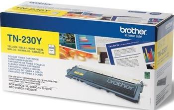 Картридж Brother (TN230Y) HL-3040CN/DCP-9010CN/MFC-9120CN Yellow - купить в интернет-магазине Анклав