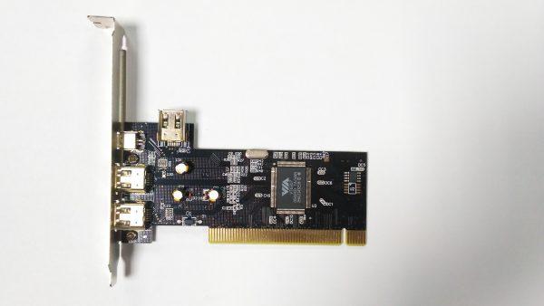 Контроллер PCI, IEEE 1394, 3 port-ext/1 port-int + Cable, VIA chip - купить в интернет-магазине Анклав