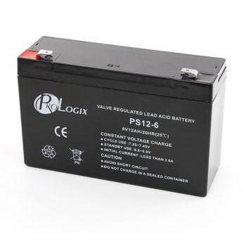 Акумуляторна батарея до ДБЖ 6V 12Ah Prologix (PS12-6) - купить в интернет-магазине Анклав