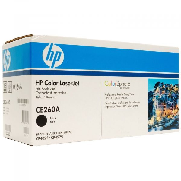 Картридж HP 647A CLJ CP4025DN/4025N/4525DN/4525N/4525XH Black (CE260A) - купить в интернет-магазине Анклав