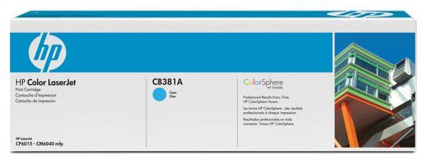 Картридж HP 824A CLJ CM6040/CM6030 Cyan (CB381A) - купить в интернет-магазине Анклав