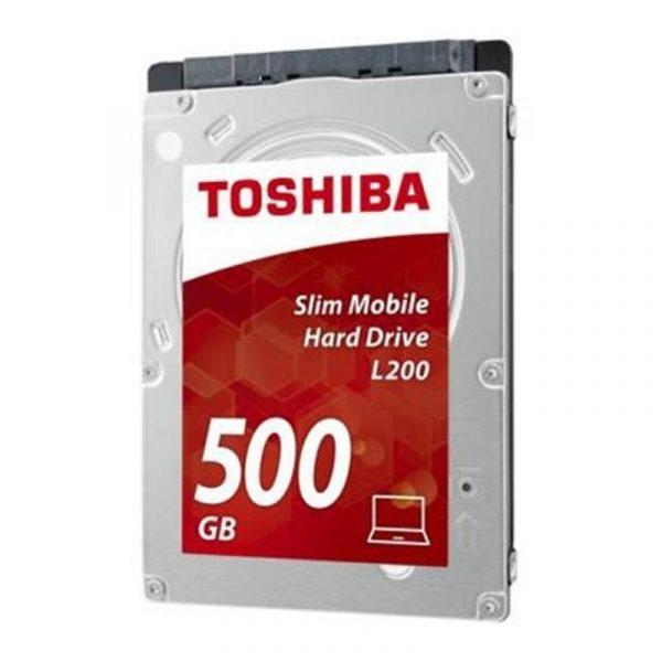 "HDD 2.5"" SATA  500GB Toshiba L200 5400rpm 8MB (HDWK105UZSVA) - купить в интернет-магазине Анклав"