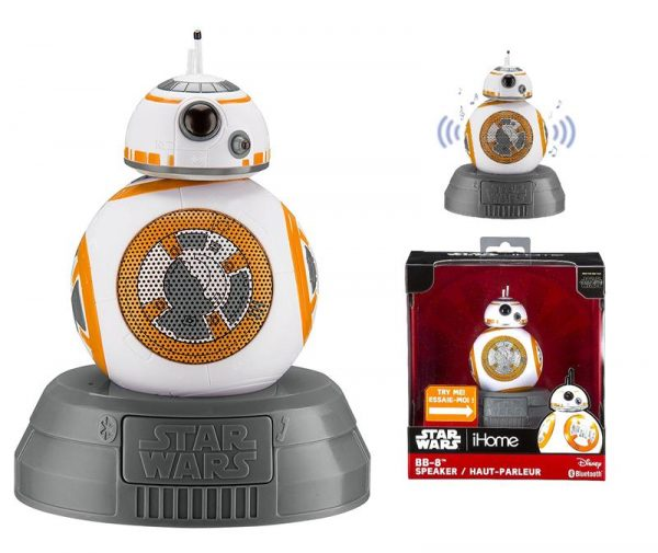 Акустическая система eKids iHome Disney Star Wars BB-8 Droid (LI-B67B8.FMV7) - купить в интернет-магазине Анклав