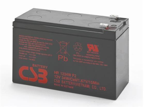 Аккумуляторная батарея CSB 12V 9AH (HR1234W) AGM - купить в интернет-магазине Анклав