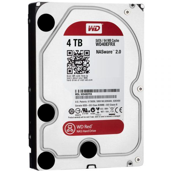 HDD SATA 4.0TB WD Red 5400rpm 64MB (WD40EFRX) - купить в интернет-магазине Анклав
