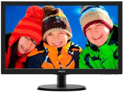 """Philips 21.5"""" 223V5LSB/01 Black - купить в интернет-магазине Анклав"""