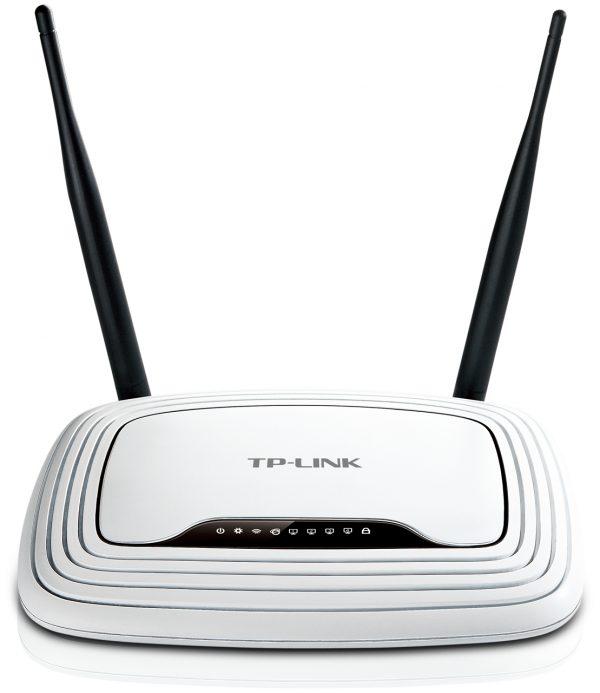 Беспроводной маршрутизатор TP-LINK TL-WR841N (1*Wan, 4*Lan, WiFi 802.11n, 2 антенны) - купить в интернет-магазине Анклав