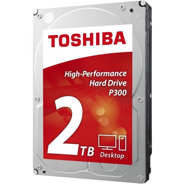 HDD SATA 2.0TB Toshiba P300 7200rpm 64MB (HDWD120UZSVA) - купить в интернет-магазине Анклав