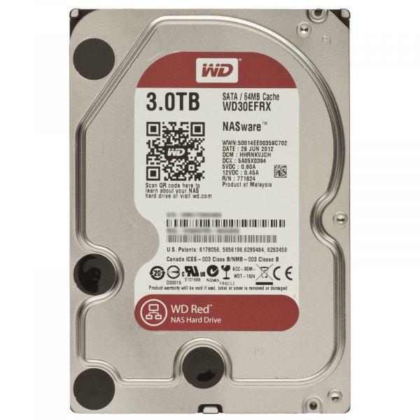 HDD SATA 3.0TB WD Red 5400rpm 64MB (WD30EFRX) - купить в интернет-магазине Анклав