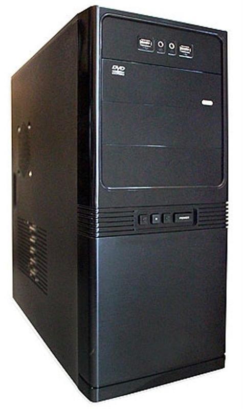 Корпус Delux MD206 Black 500W - купить в интернет-магазине Анклав