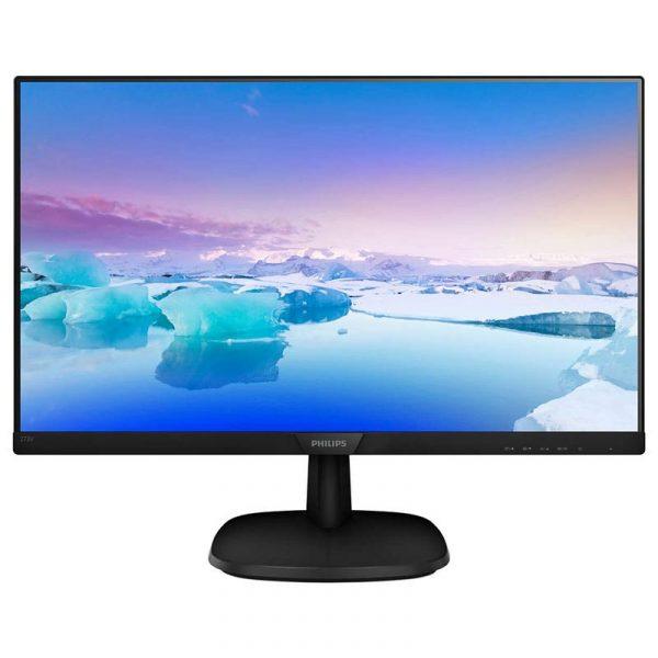 """Philips 27"""" 273V7QDSB/01 IPS Black - купить в интернет-магазине Анклав"""