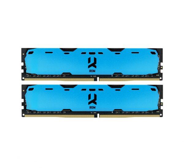 DDR4 2x4GB/2400 GOODRAM Iridium Blue (IR-B2400D464L15S/8GDC) - купить в интернет-магазине Анклав