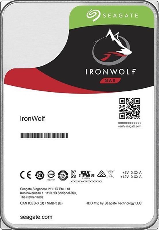 HDD SATA 3.0TB Seagate IronWolf NAS 5900rpm 64MB (ST3000VN007) - купить в интернет-магазине Анклав