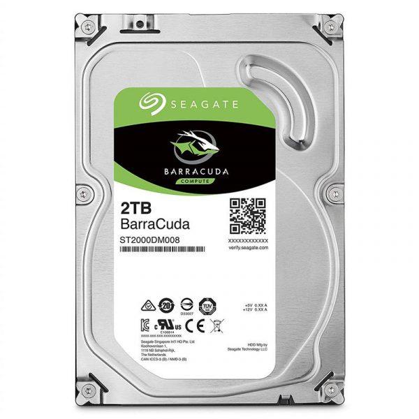 HDD SATA 2.0TB Seagate BarraCuda 256MB (ST2000DM008) - купить в интернет-магазине Анклав