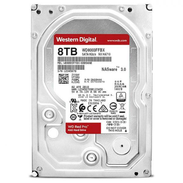 HDD SATA 8.0TB WD Red Pro NAS 7200rpm 256MB (WD8003FFBX) - купить в интернет-магазине Анклав
