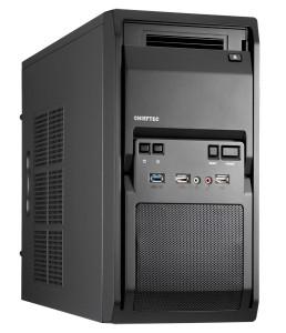 Корпус Chieftec Libra LT-01B-OP, без БЖ, 1xUSB3.0 Black - купить в интернет-магазине Анклав
