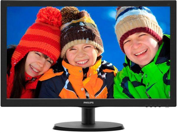 """Philips 21.5"""" 223V5LHSB/00 Black - купить в интернет-магазине Анклав"""