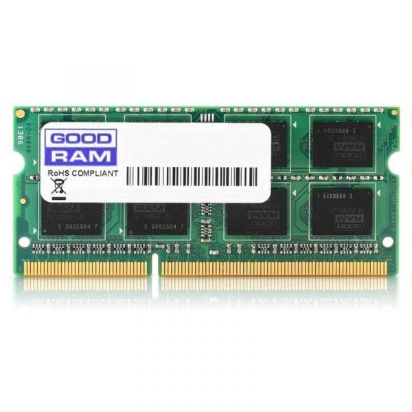 SO-DIMM 2GB/1600 DDR3 GOODRAM (GR1600S364L11/2G) - купить в интернет-магазине Анклав