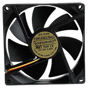 Вентилятор Gembird FANCASE2 90мм - купить в интернет-магазине Анклав