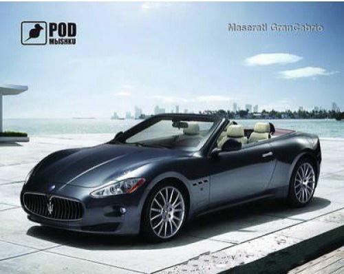 Килимок для миші Podmyshku  Maserati GranCabrio - купить в интернет-магазине Анклав