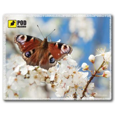 Коврик для мыши Pod Mishkou Весна-Бабочка - купить в интернет-магазине Анклав